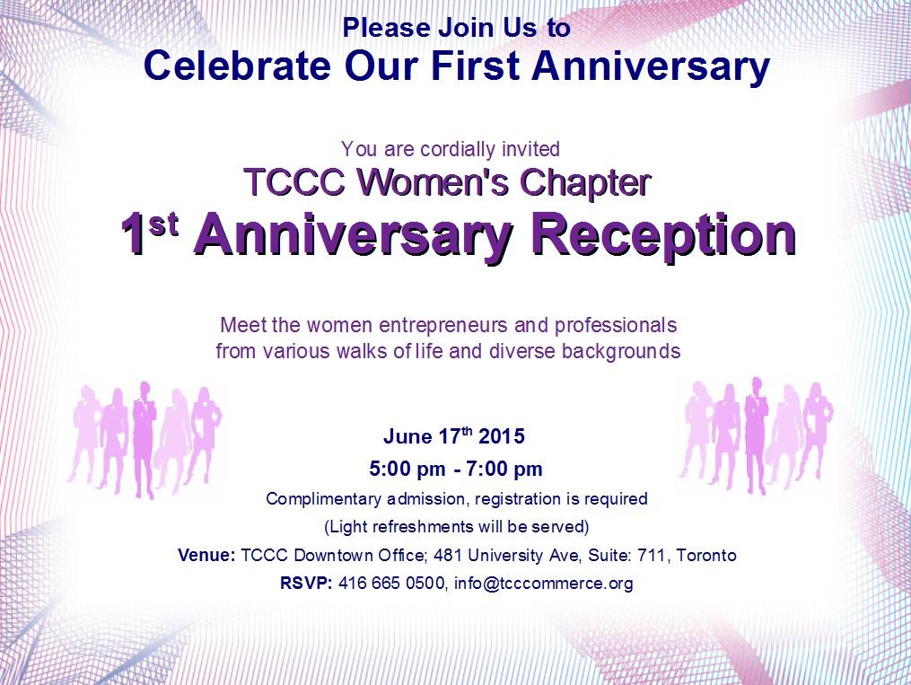 Women's Chapter Reception
